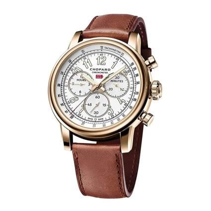 chopard 18k gold women's watch
