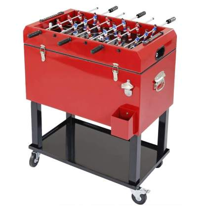Clevr 68-Quart Foosball Ice Chest