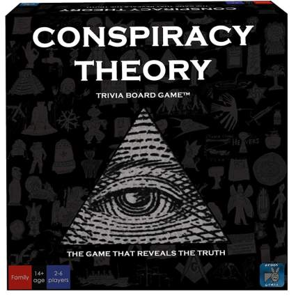 conspiracy theory boardgame