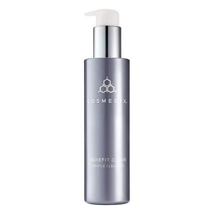 COSMEDIX Benefit Clean, Sensitive Skin Face Cleanser, Antioxidant Makeup Remover, 5 Fluid Ounce