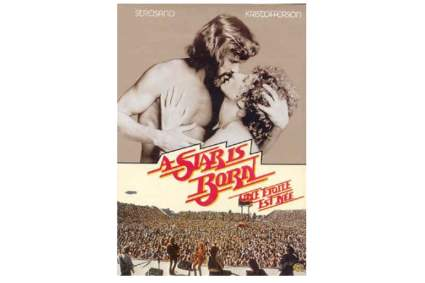 'A Star Is Born' 1976 Movie DVD