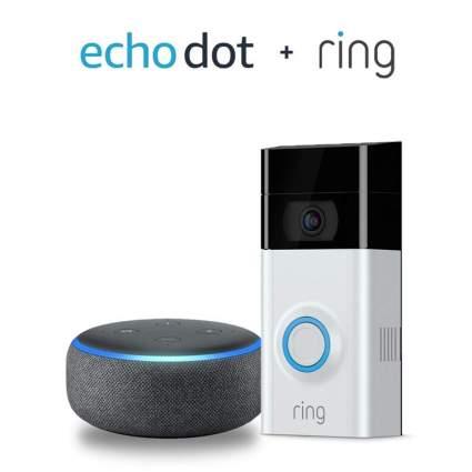 echo dot plus ring black friday smart home deals amazon