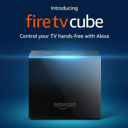 fire tv cube alexa amazon