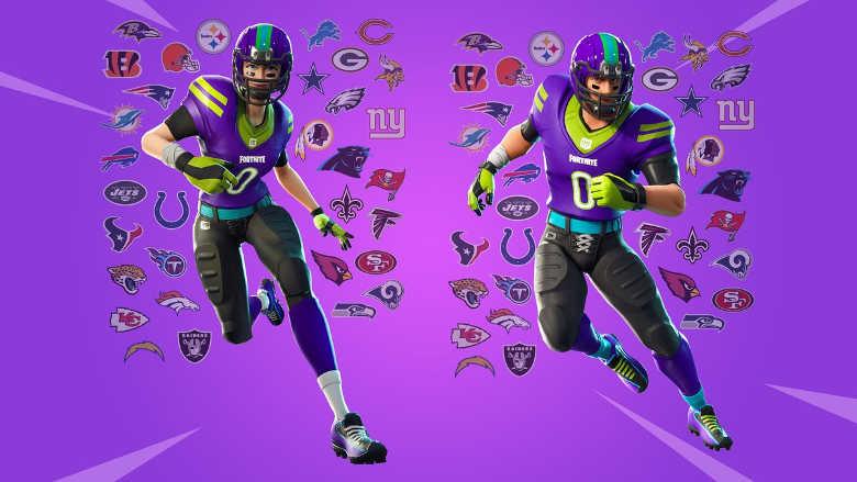 Fortnite Item Shop NFL Skins