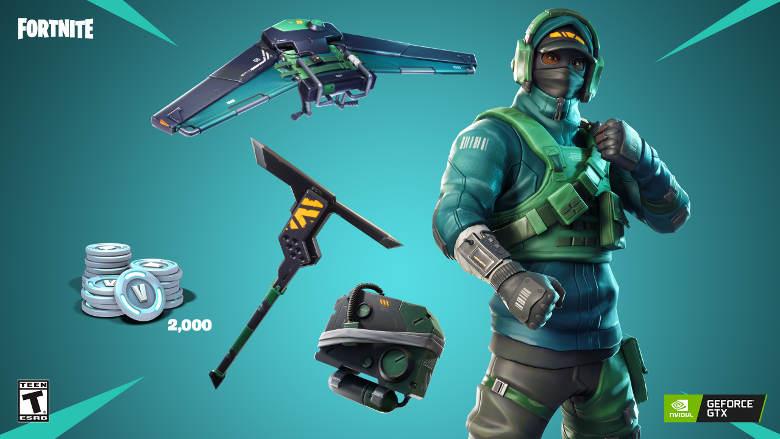 Fortnite Nvidia Counterattack Set