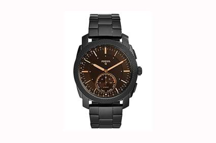 Fossil Q Men's black stainless smartwatch