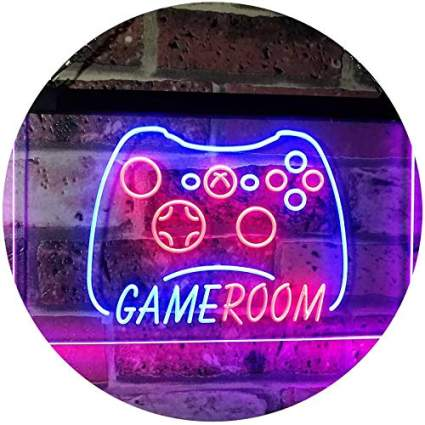 AdvpPro Game Room Man Cave LED Neon Sign