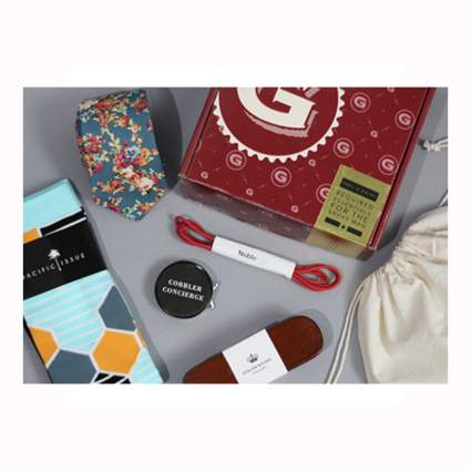 montly subscription box for men