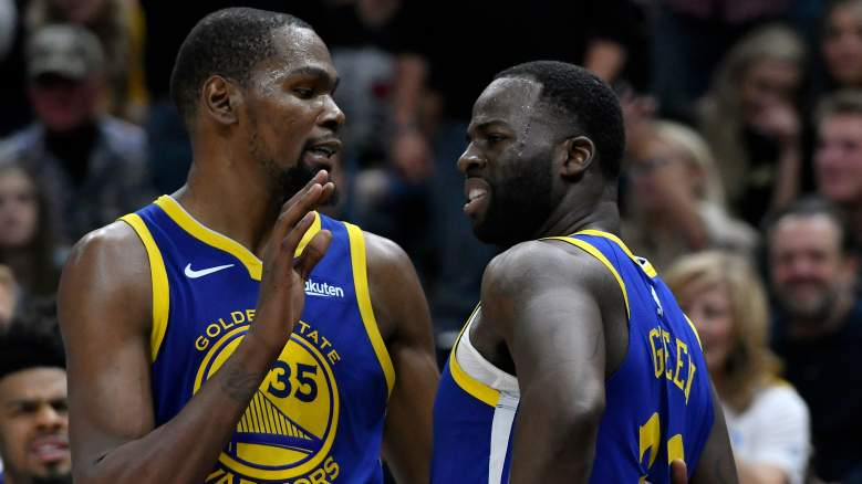 Kevin Durant Draymond Green– Golden State Warriors vs Utah Jazz (Oct. 19, 2018) [Draymond brings up KD's free agency while on court]