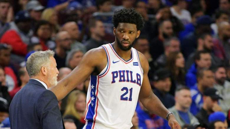 76ers Roster Starting Lineup Without Joel Embiid Vs Pistons Heavy Com