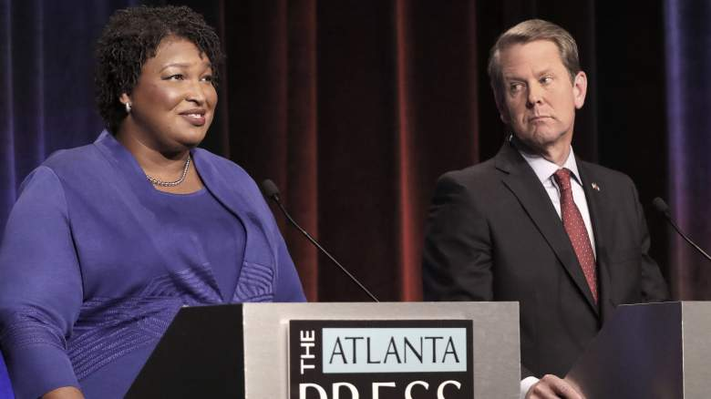 stacey abrams brian kemp