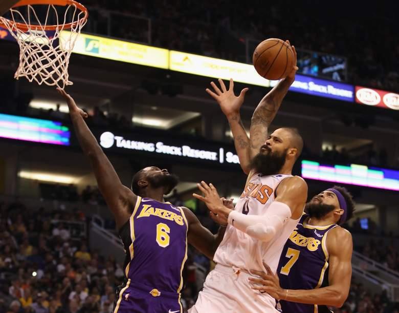 Tyson Chandler Los Angeles Lakers vs Phoenix Suns (Oct. 26, 2018)