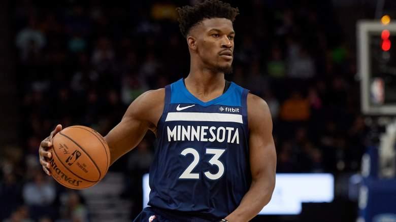 Jimmy Butler, Cleveland Cavaliers vs Minnesota Timberwolves October 19, 2018)
