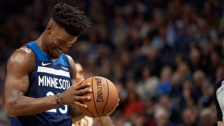 Jimmy Butler– Minnesota Timberwolves vs Cleveland Cavaliers (October 19, 2018) [Jimmy Butler officially on Philadelphia 76ers / Sixers]