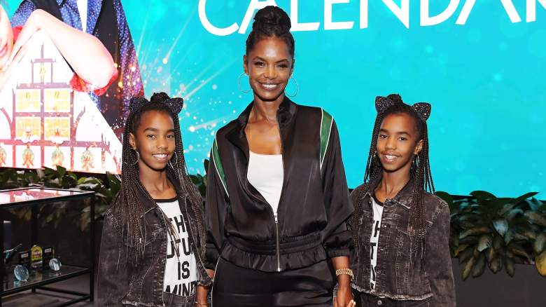 Kim Porter at 'The Holiday Calendar' screening at NETFLIX Icon Center (OCt. 30, 2018) [Al B Sure! wrote forever my lady jodeci]