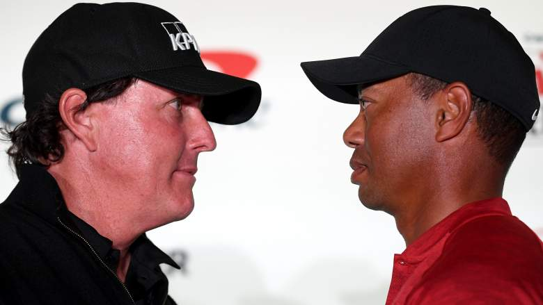 tiger vs. phil tv channel