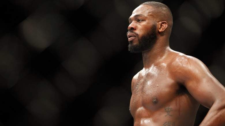 Jon Jones at UFC 182: Jones vs Cormier (Jan. 3, 2015) admits he still smokes weed from time to time