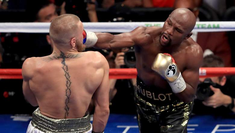 Floyd Mayweather vs Conor McGregor at T-Mobile Arena in Las Vegas, NV [Aug 26, 2017]