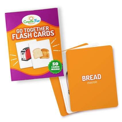 go together flash cards