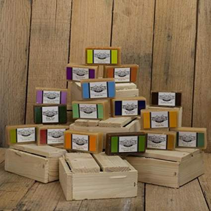Herbal Handmade Goat Milk Soap Sample Pack