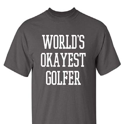 funny golf t shirts