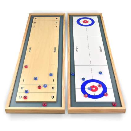GoSports Shuffleboard and Curling Tabletop Board Game