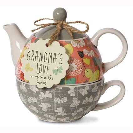 single serve grandma teapot