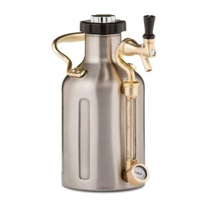 GrowlerWerks uKeg Carbonated Stainless Steel Growler