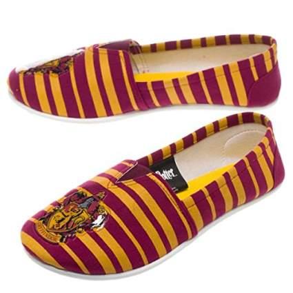 Harry Potter Gryfindor Logo Slip-On Shoes