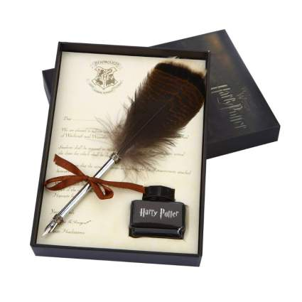 harry potter feather dip pen