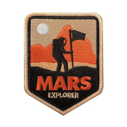hatjoy mars explorer patch astronomy gifts