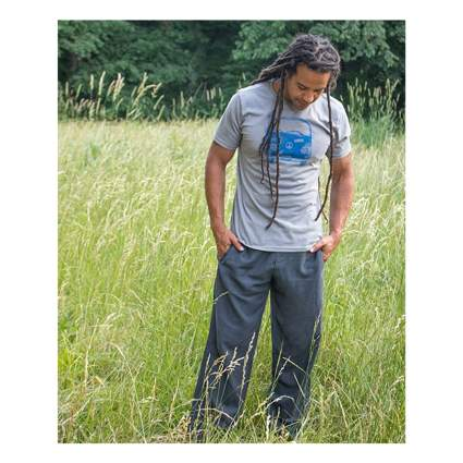 hemp yoga pants for men