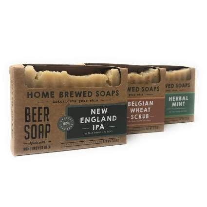 HomeBrewedSoaps Ale Beer Soap 3-Pack