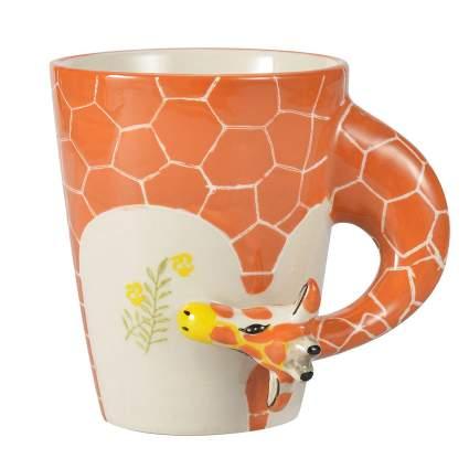 Giraffe coffee cup