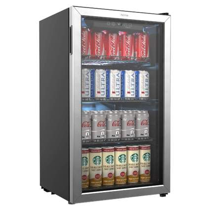 hOmeLabs 120-Can Beverage Refrigerator