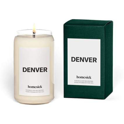 Denver Scented Candle and box