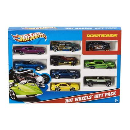 hot wheels 9 car set