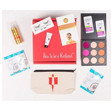 monthly subscription box for redheads