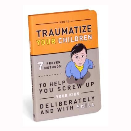 Funny parenting parody book