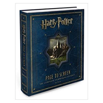 'Harry Potter Page to Screen: The Complete Filmmaking Journey' by Bob McCabe