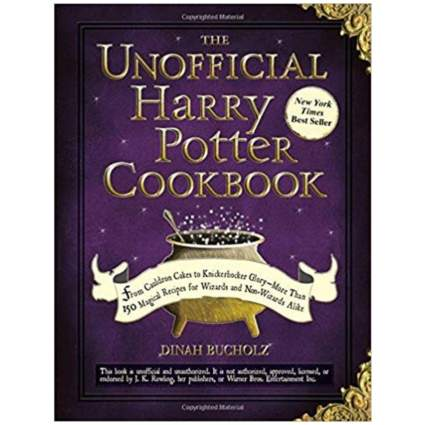 'The Unofficial Harry Potter Cookbook: From Cauldron Cakes to Knickerbocker Glory. More Than 150 Magical Recipes for Muggles and Wizards' by Dinah Bucholz