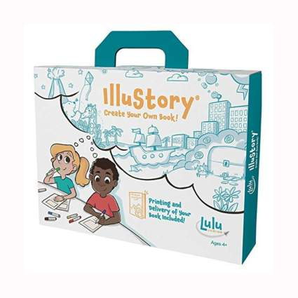 kids book making kit