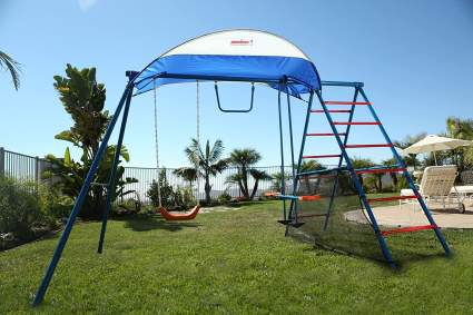 ironkids challenge 100 metal swing set
