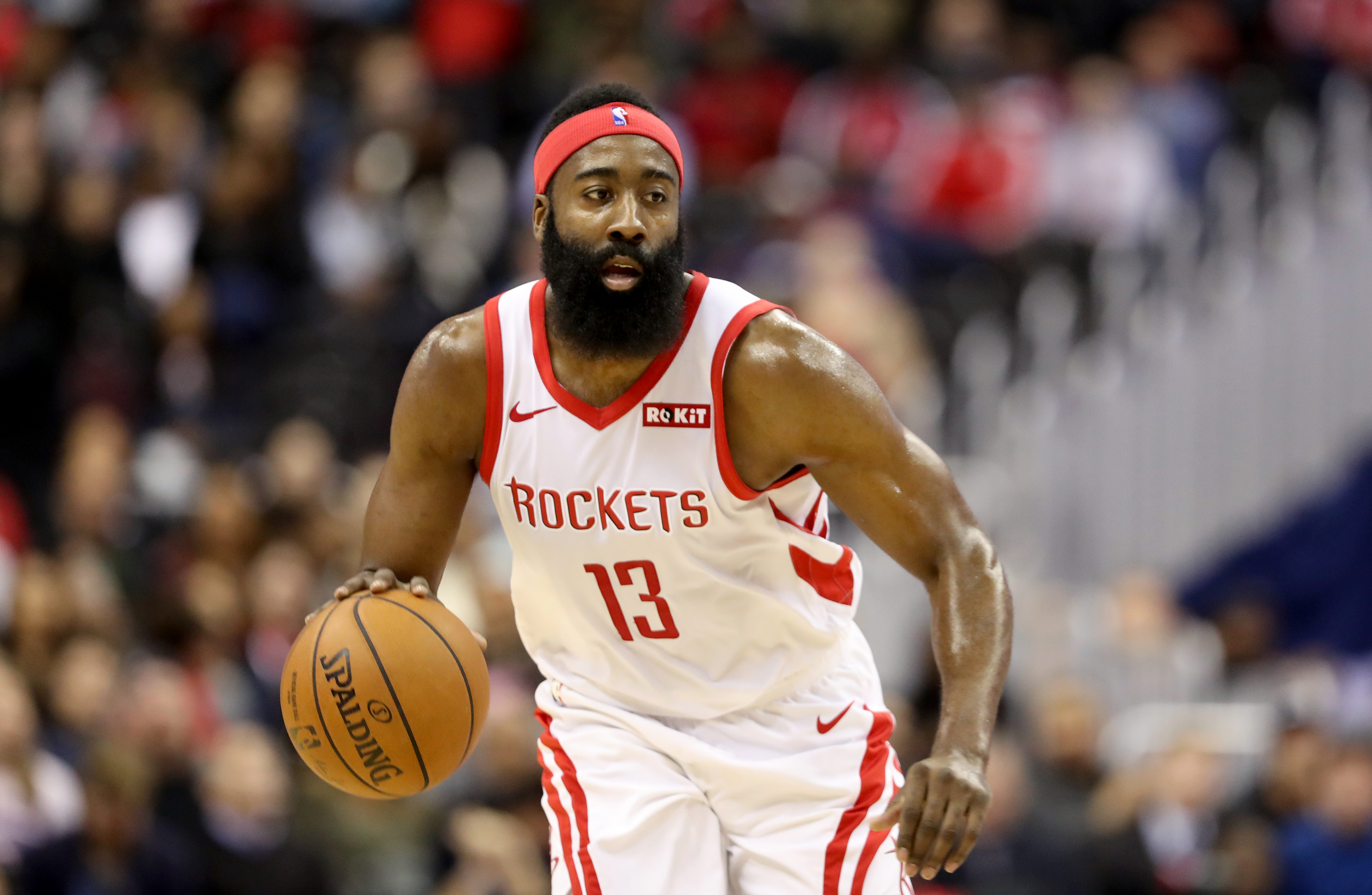 Rockets Fans Want More 'Headband Harden' After Huge Performance   Heavy.com