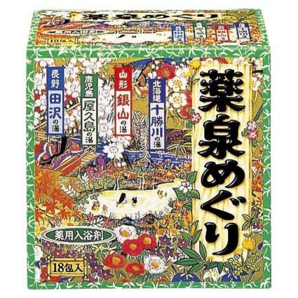 Japanese Hot Spring Bath Powders