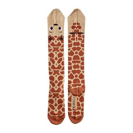 Giraffe knee socks