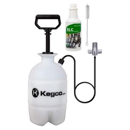 Kegco Deluxe Pressurized Keg Beer Cleaning Kit