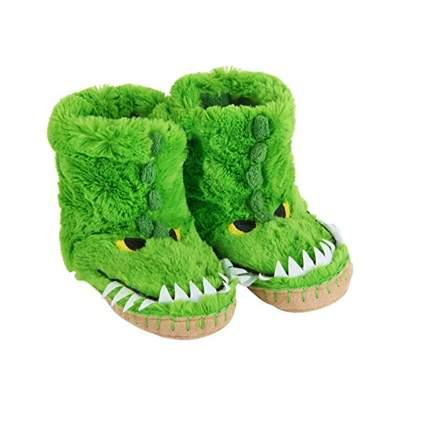 kids monster slouch slippers