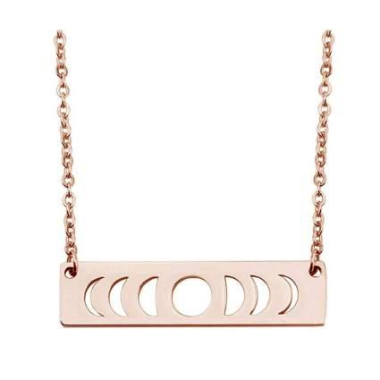 Kuiyai moon phase necklace astronomy gifts