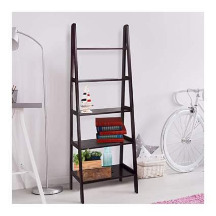 ladder style bookshelf